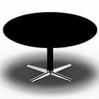 SWITCH round table. D: 110 cm/H: 55 cm