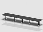 SWITCH rectangular meeting table 625x120 cm