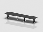 SWITCH rectangular meeting table 500x120 cm