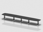 SWITCH barrel shaped meeting table 625x110 cm