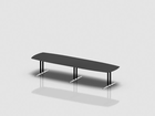 SWITCH barrel shaped meeting table 375x110 cm