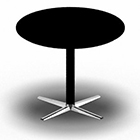 SWITCH round table. D: 90 cm/H: 72 cm