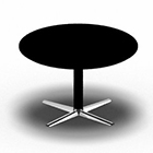 SWITCH round table. D: 90 cm/H: 55 cm