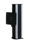 4130-B Monitor pole without extension arm