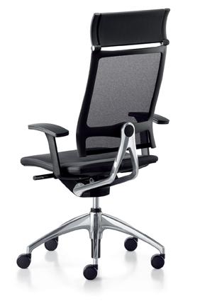 Bureaustoel Met Neksteun.Sedus Stoll Ag Seating Open Up Up 103 Open Up Bureaustoel