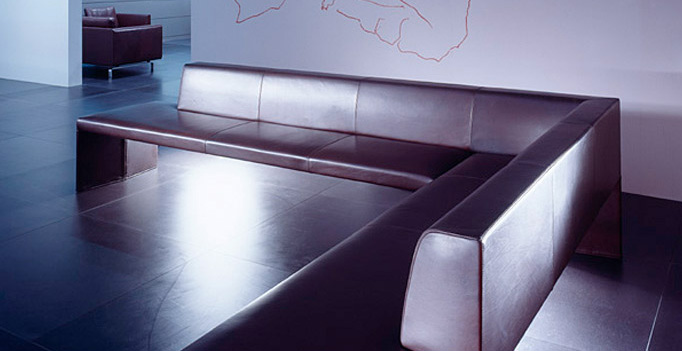 Eckbank design  Walter Knoll - Polsterbänke